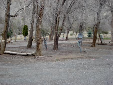 Warm Springs RV Park, Warm Springs, Oregon